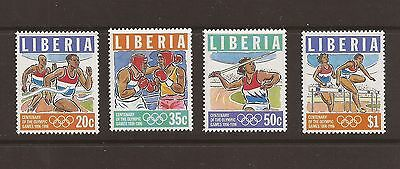 Liberia 1996 Olympic set. Unmounted mint.