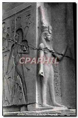 CPA Louxor Monument of the Wife Ramses III Egypte