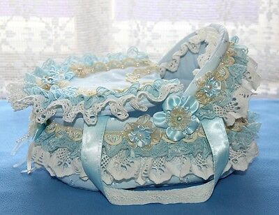 "Luxurious cradle/crib for ooak/reborn baby doll 7""- 8"""
