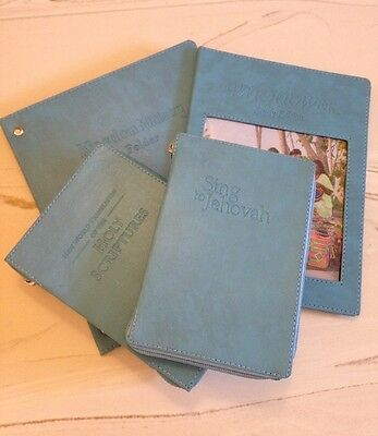 NEW WORLD TRANSLATION BIBLE   COVER 4 PACK, Jehovah's Witness