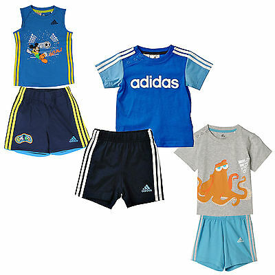 adidas Performance Kinder-Sommerset Shorts T-Shirt Zweiteiler Sportset Set