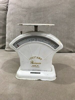 Vintage Persinware Scales Culinary - retro / industrial / shabby collectable