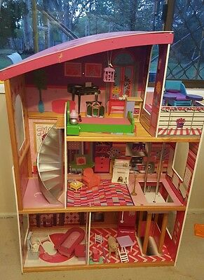 3 Level Barbie Size Doll House