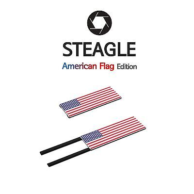 STEAGLE1.0 Laptop Webcam Cover for Privacy Shield (American Flag Edition)