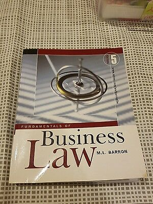 Fundamentals of Business Law 5th Edition 2006