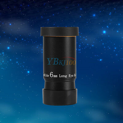 6mm 66°  Wide Angle Eyepiece Lens Fully Multi-coated For Astronomy Telescope MP