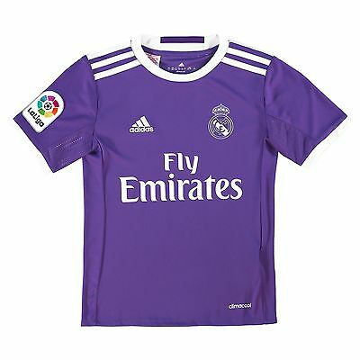Kids 7-8 yrs Real Madrid Away Jersey 2016/17 UEFA embriodery RM2