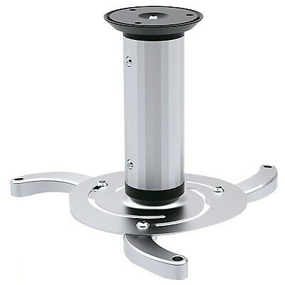 Maclean MC-515 Quality Ceiling Projector Mount Bracket Universal Silver Max 1...