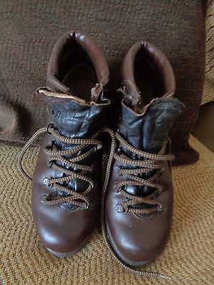 Ladies Trezeta Brown Leather Italian Walking Boots 6