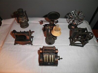 Vintage collectible die-cast articulated novelty pencil sharpeners