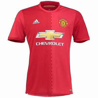 Adult Large Manchester United Home Shirt 2016-17 H566