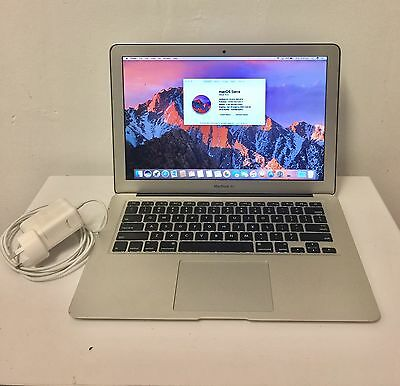 "13.3"" Apple Macbook Air Mid 2012 1.8ghz Core i5 4gb Ram 128 Ssd 1.5 Gb Graphics"
