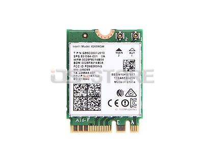 HP 851594-001 Intel Dual Band Wireless-AC 8265NGW NGFF Bluetooth 4.2 WiFi Card W