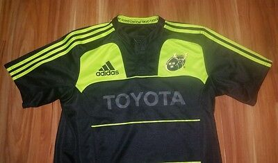 Rugby Union Jersey Munster Rugby Authentic Adidas Mens Large Original