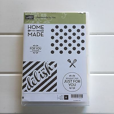 Stampin Up Homemade For You Stamp Set