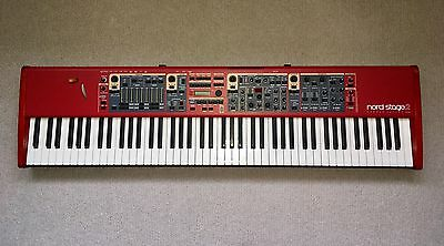 Nord Stage 2 HA88 Keyboard + CASE + STAND