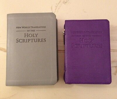 NEW WORLD TRANSLATION POCKET BIBLE COVER, Jehovah's Witnesses