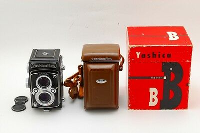 Vintage Yashica Yashicaflex model B Yashica COPAL MXV80mm f/3.5 As-Is Japan 188N