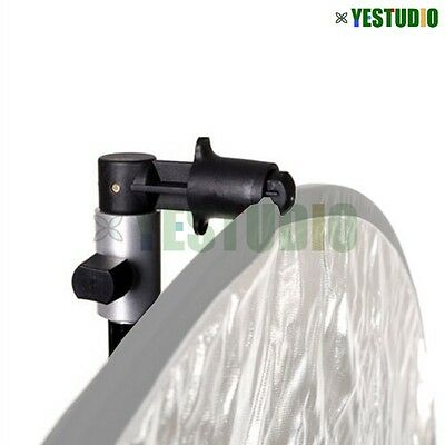 Photography Reflector Holder Clip Clamp for Backdrop Background Light Stand Kit