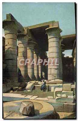 CPA Egypte Egypt Thebes Ramaseun The Great Hypostyle Hall