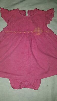 Mothercare baby girl dress 9-12 months