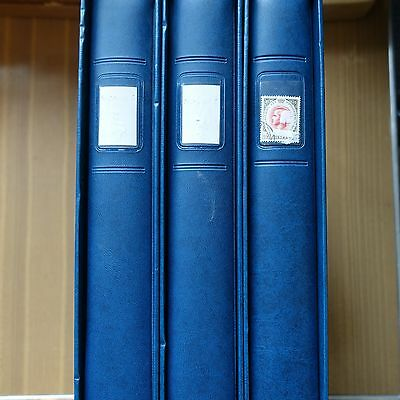 Collection Stamp Monaco 1960/2000 In 3 Bindings Lindner 183 Photos