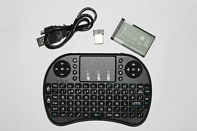 Mini Wireless Keyboard with Touchpad 2.4GHz for Android Box, PC, PS and XBOX