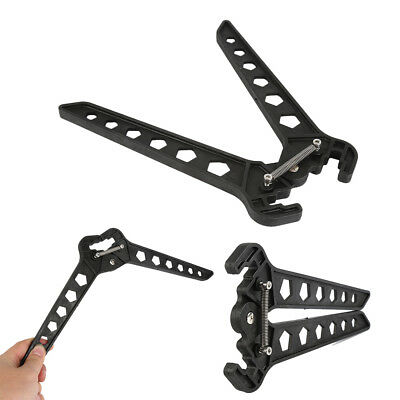 Archery Bow Kick Stand Holder Scissor Shape Compound Bow Bracket Hunting WZ03