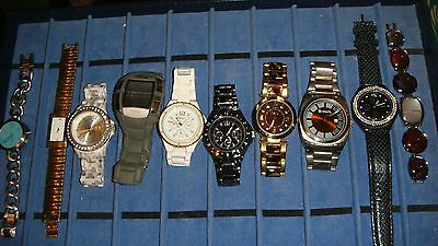 Trade Only Job Lot Of 10 X  Mixed   Watches 100% Gen,///