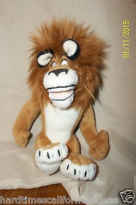 Ty Beanie Babies Madagascar Alex Plush Lion 6""