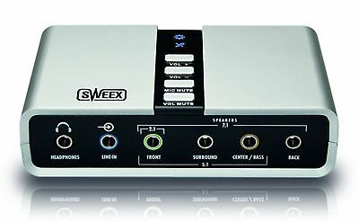 Sweex 7.1 External USB Sound Card
