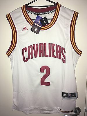 #2 Kyrie Irving Jersey Cleveland Cavaliers Size S Brand New White