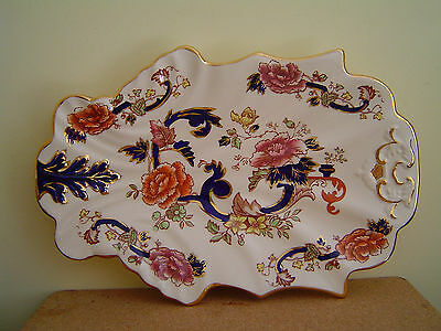 Mason's Blue Mandalay Leaf Plate/Tray - In Celebration of 200 Years