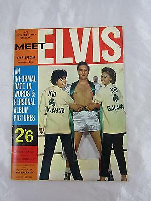 Meet Elvis An Elvis Monthly Special Star Special Number One 1962