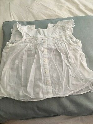 Baby Girl Blouse Next 6-9 Months
