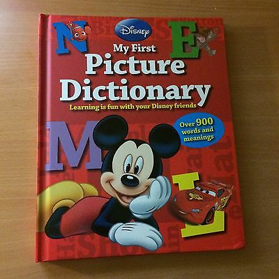 Disney My First Picture Dictionary Hardback Good Condition