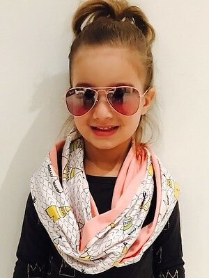 Childrens Eternity Scarf - Handmade by us with love - Girls Teepee