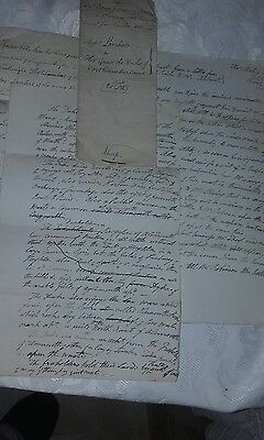 antique hand written document 1797-1801