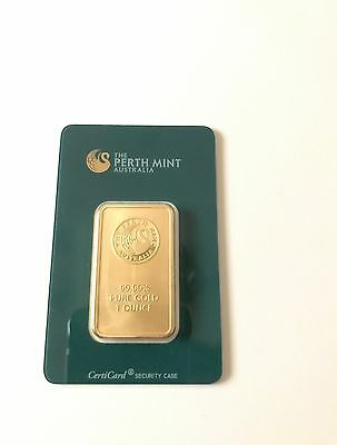1oz Perth Mint Gold Bullion Bar