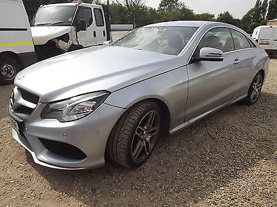 2015 Mercedes Benz E250 Cdi Amg Line Coupe Damaged Repairable Salvage