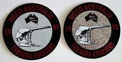Teralba Colliery Meco Mining Sticker Pair