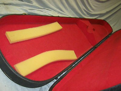 70's BASS CASE for VOX TEARDROP BASS MARK IV -- made in ITALY