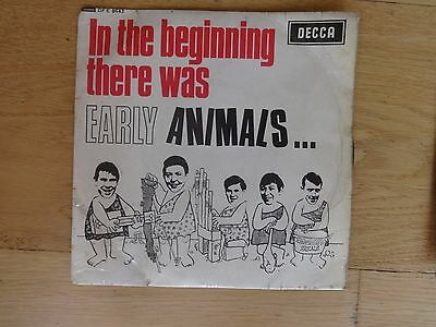 Vinyl record  - 45 - In The Beginning there was Early Animals...