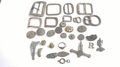 metal detecting finds from Sussex (31 pieces in total )