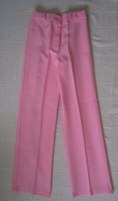 Vintage Ladybird Girls Zip Trousers - Age 12 - 152 cm - Pink Corded fabric - New