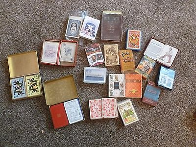 Job Lot of vintage playing cards / card games