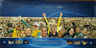 2004 Athens Olympics - Living the Athens Dream. Limited Edition Print