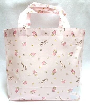 New! SANRIO KAWAII My Melody Tote Bag  Size -M- You Will be Noted Feel Free Use