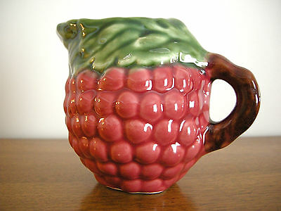 Raspberry Creamer ~ Jay Willifred (Portugal) Pottery