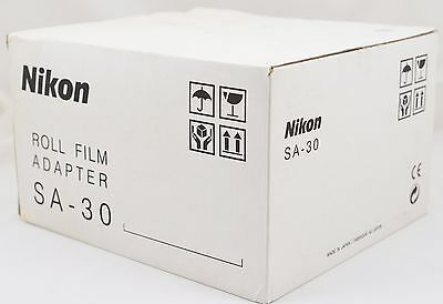 Nikon SA-30 Roll Film Adapter for Coolscan 4000 and Coolscan 5000 ED c/w Bracket